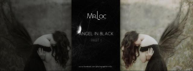 ANGEL IN BLACK | Girl Beautifull Li La | Style Art