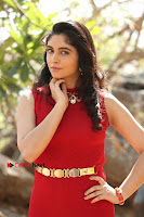 Telugu Actress Zahida Sam Latest Pos in Red Gown at RF Films New Movie Opening  0164.JPG