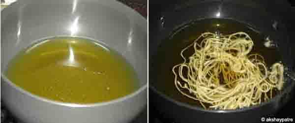 Deep fry till golden colour