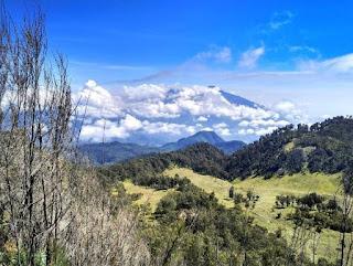jalur pendakian gunung Butak via panderma