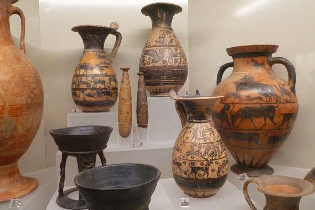Ceramica etrusca, Museu Etrusco de Roma