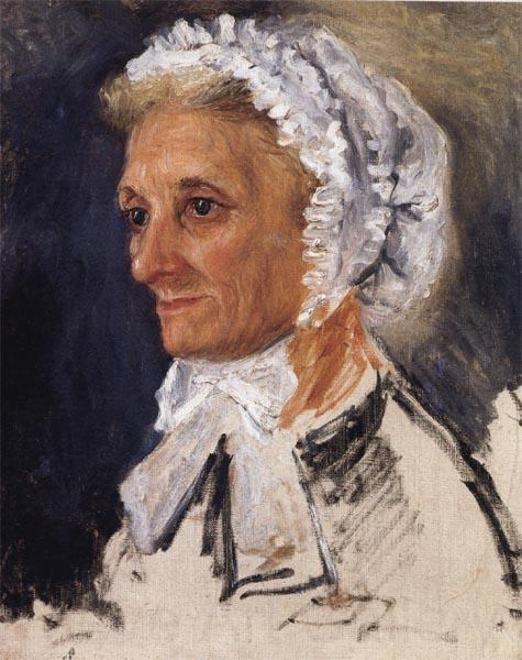 Pierre Renoir, Portrait of the Artist's Mother, 1860