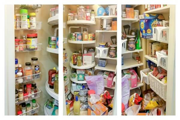 pantry clutter