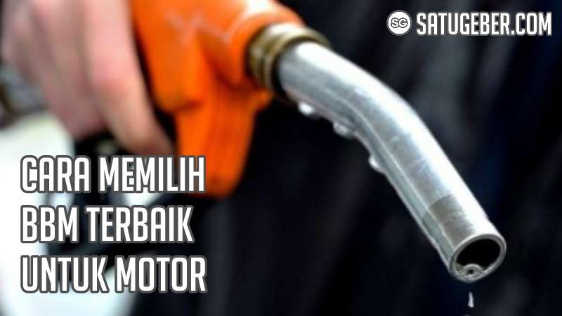 bahan bakar bensin motor matic sport bebek paling cocok terbaik