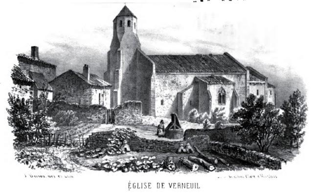 Patrimoine de l'Allier: église de Verneuil
