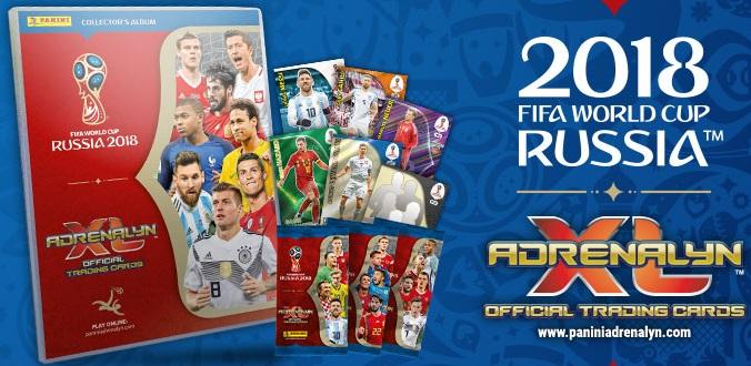 Colección Adrenalyn XL FIFA World Cup 2018 Russia Datos ...