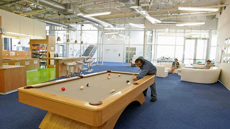 Permainan di Googleplex