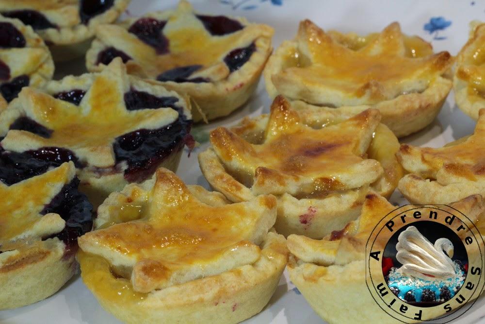 Tartelettes à la confiture ou crème de citron (pas à pas en photos)