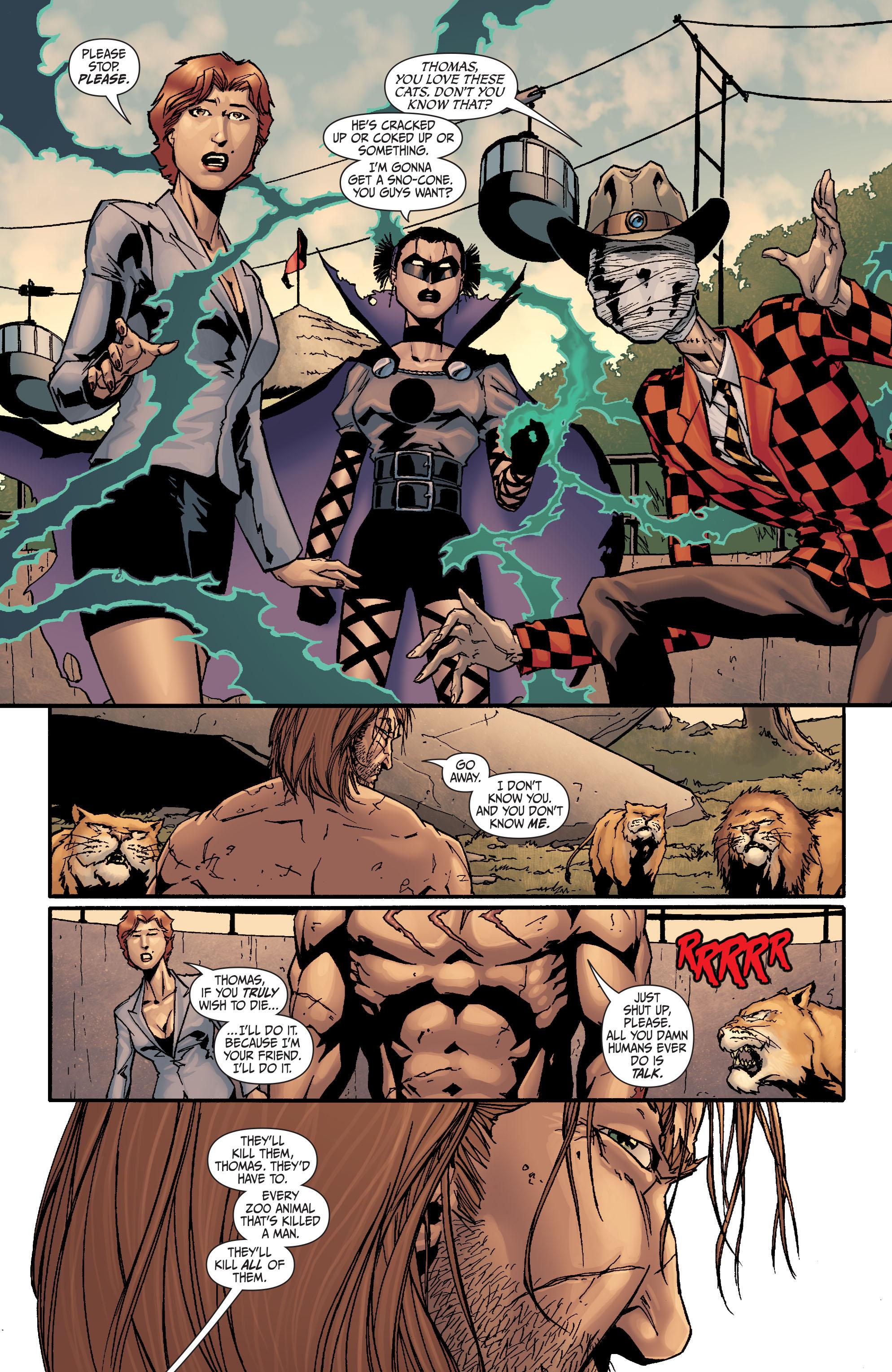 Read online Secret Six (2008) comic -  Issue #25 - 12