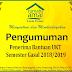 Pengumuman Penerima Bantuan Biaya UKT Semester Gasal 2018/2019 Rumah Amal Lazis UNNES