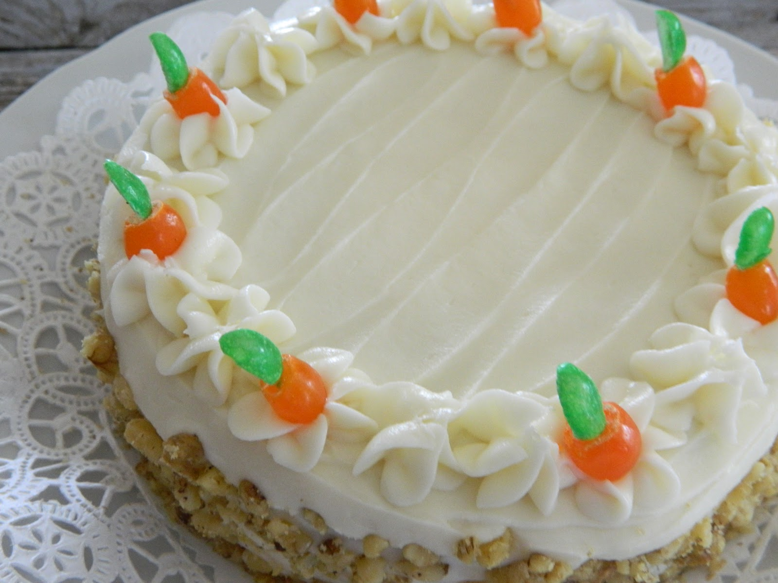 The Wednesday Baker: CARROT CAKE WITH CREAM CHEESE FROSTING