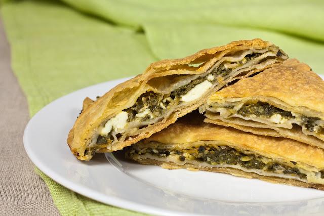 Grčka pita sa spanaćem i sirom