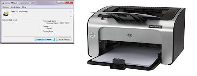 Penyebab Printer sering Not Responding