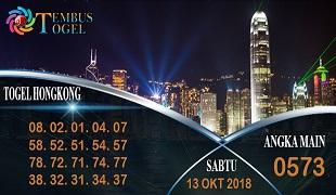 Prediksi Angka Togel Hongkong Sabtu 13 Oktober 2018