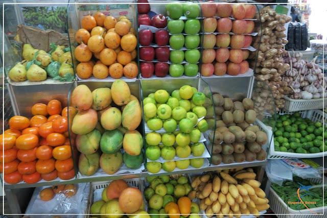 Mercado de Surquillo, em Lima!