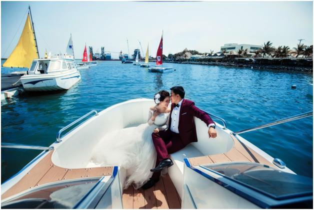 Nhiều du khách chọn đây là nơi chụp ảnh cưới