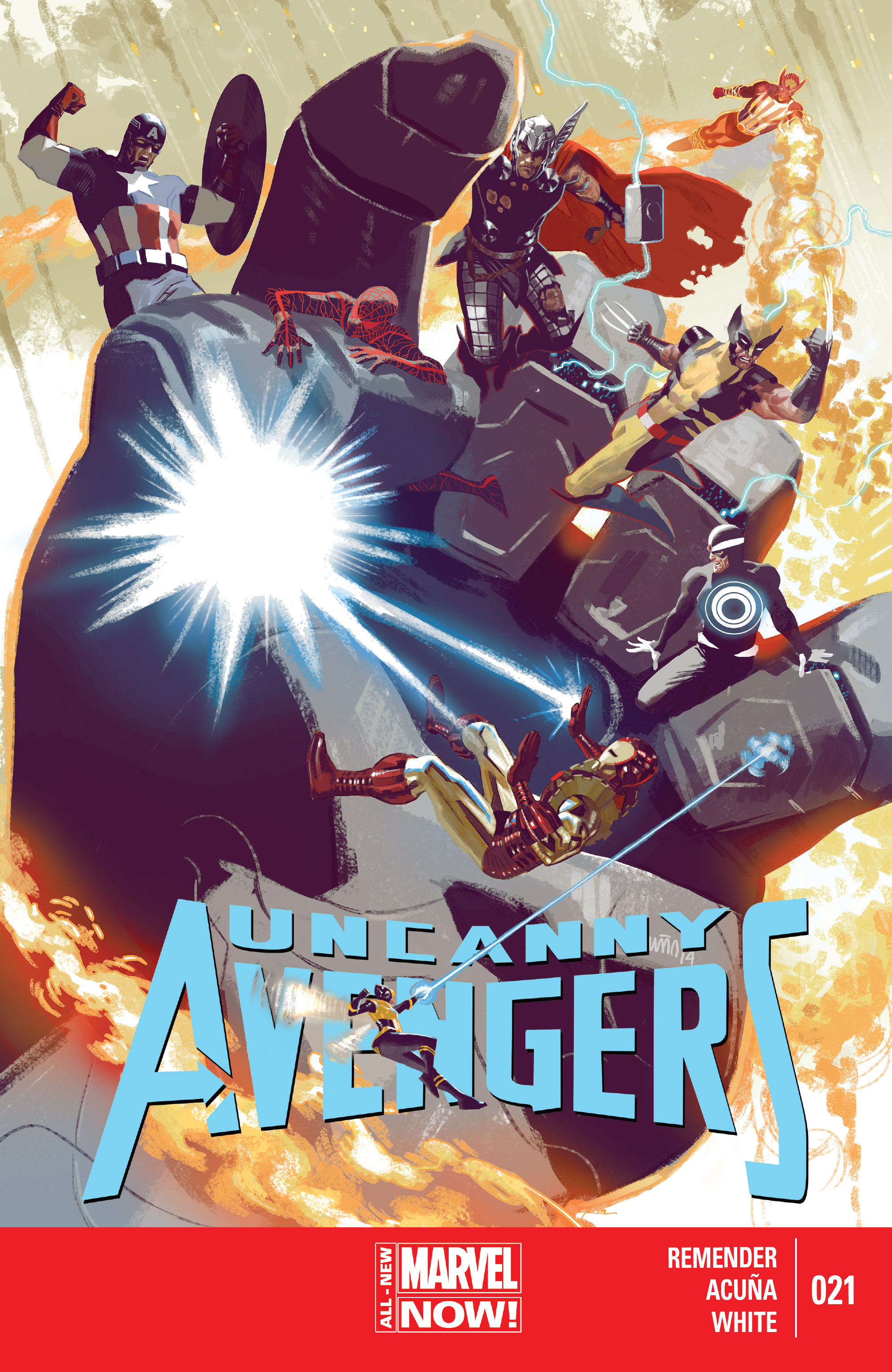 Read online Uncanny Avengers (2012) comic -  Issue #21 - 1