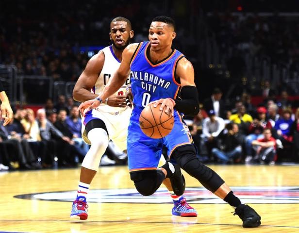 Le duel entre les Clippers de Chris Paul et le Thunder de Russell Westbrook vaudra le détour