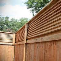Extend the height of a wooden privacy fence
