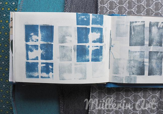 Skizzenbuch, Fensterstempel ©Müllerin Art