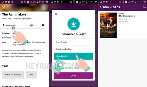 Cara Download Film HOOQ Android