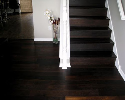 Sàn gỗ tự nhiên chiu liu có gam màu tối