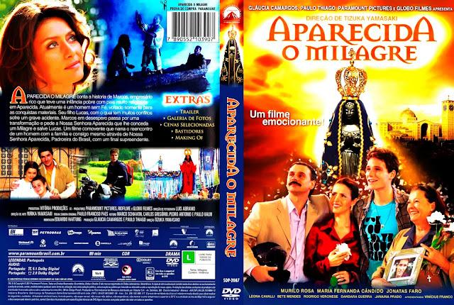 Capa DVD Aparecida - O Milagre