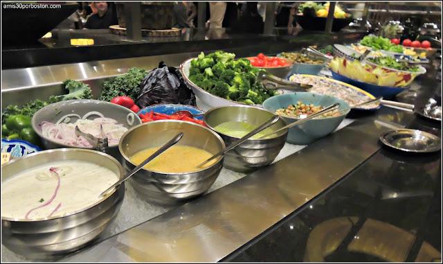 Menú Dine Out Fogo De Chao: Market Table