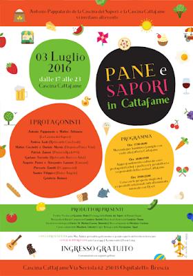 Pane e Sapori in Cattafame  3 Luglio Ospitaletto (BS) 2016