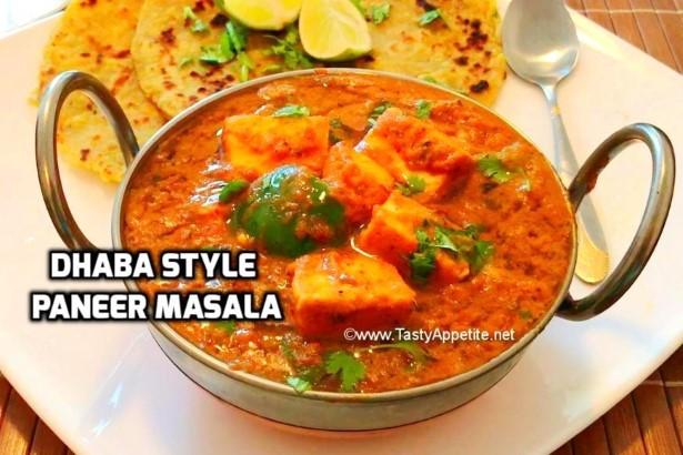 dhaba style paneer masala