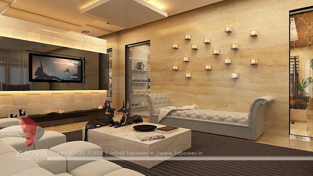 Living room contemporary Design