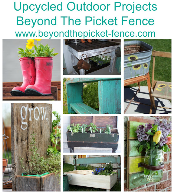 Upcycled Outdoor Projects