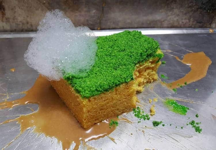 Chef crea ilusiones culinarias donde nada sobre el plato es lo que parece