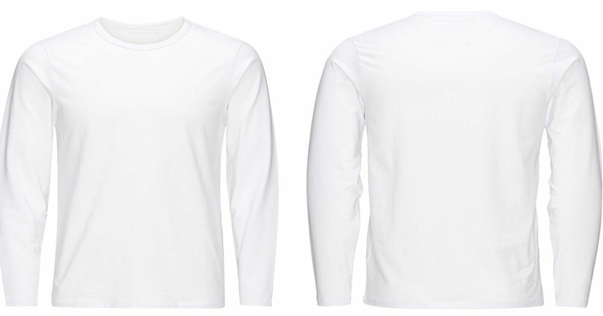 Konsep 26 Gambar Kaos Putih Polos Tampak Belakang