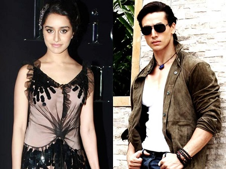 Tiger Shroff and Shraddha Kapoor New Upcoming movie Baaghi- A Rebel for love poster
