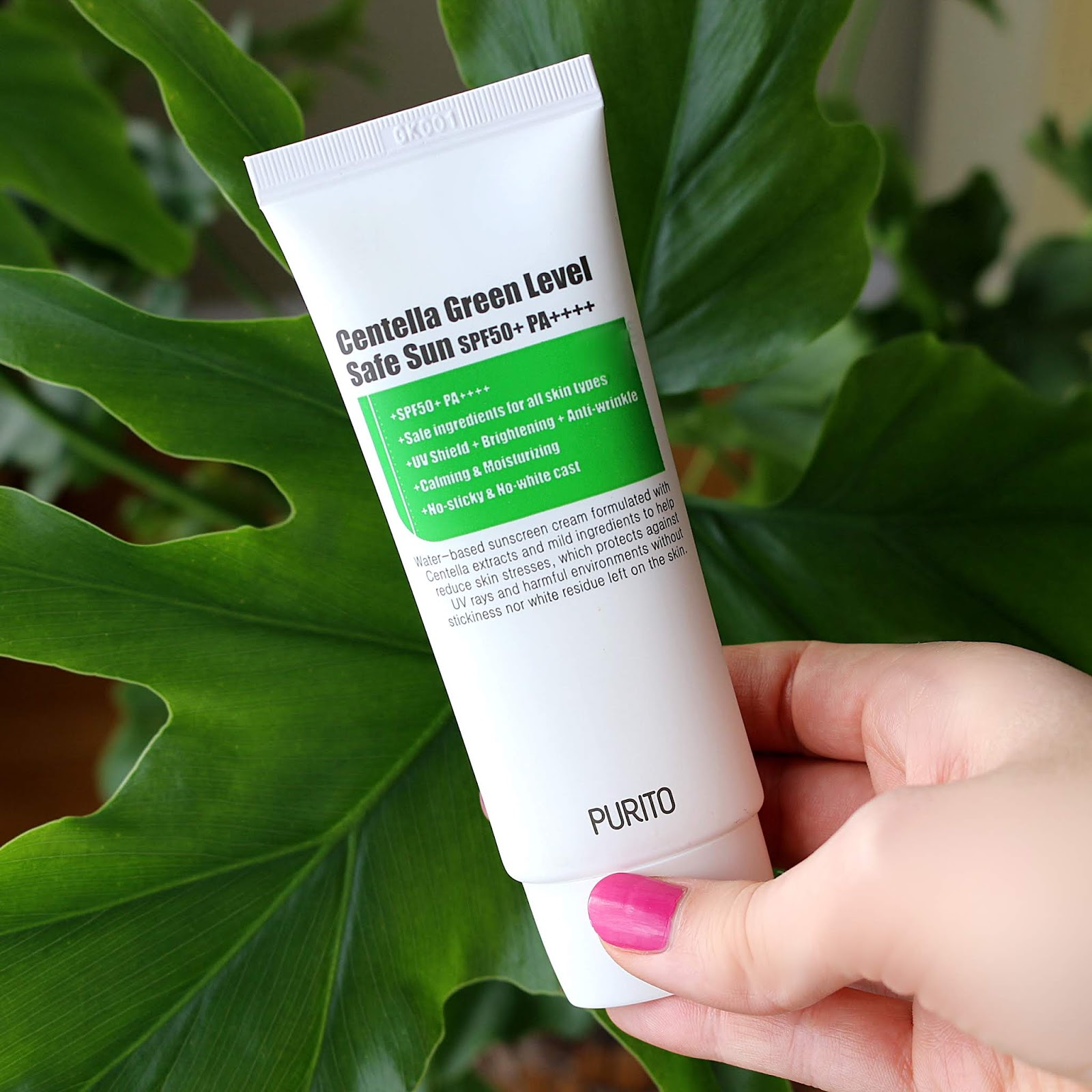 PURITO Centella Green Level Safe Sun Korean Skincare Review