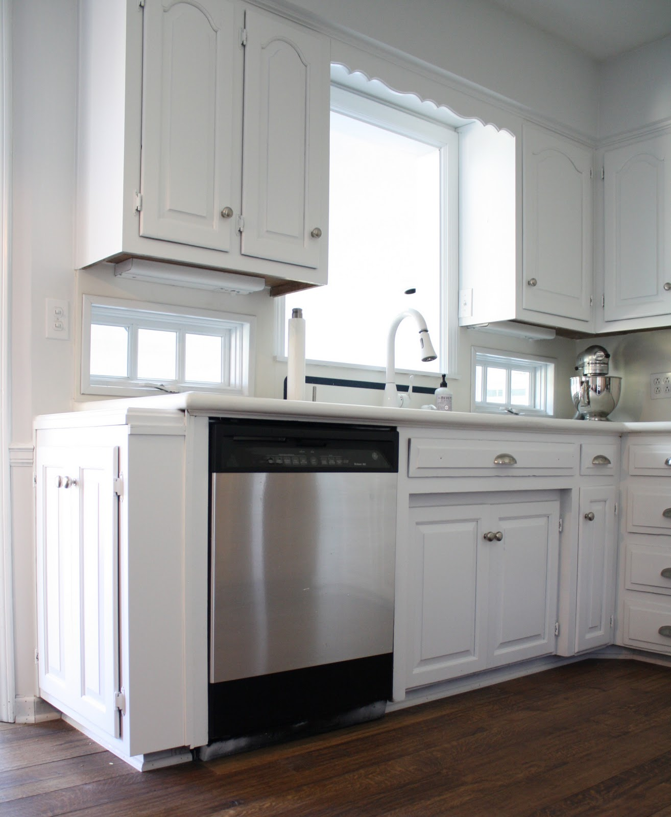 Off White Kitchen Cabinets With Stainless Appliances: DIY Stainless Steel Appliances