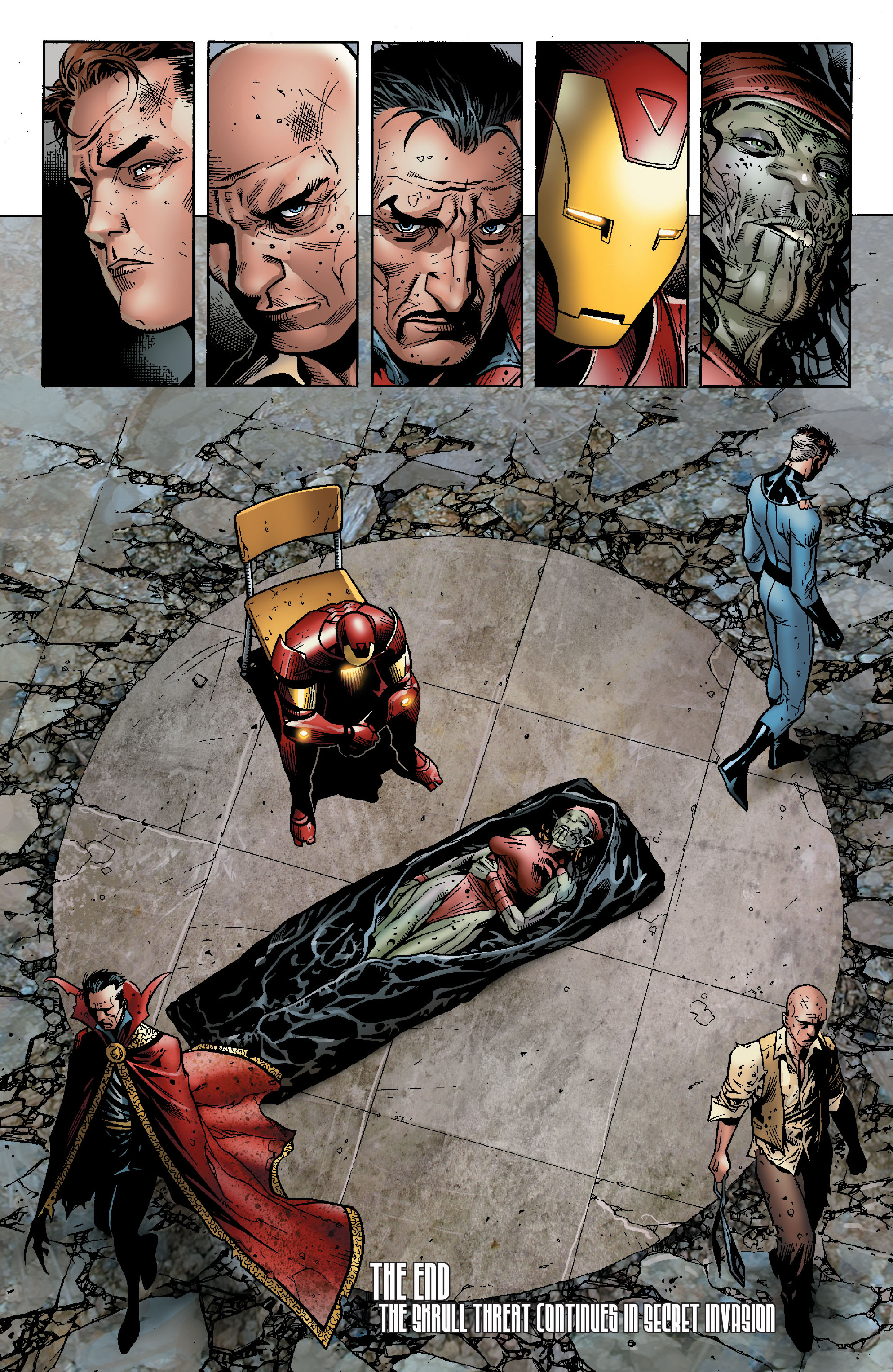 Read online Secret Invasion: The Infiltration comic -  Issue #2 - 20
