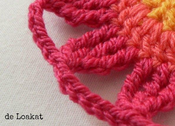Crochet punto alto triple tutorial