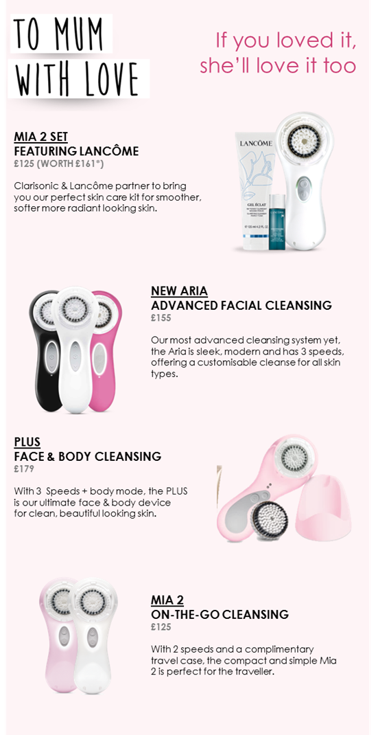 Mothers Day Beauty, Clarisonic Gifts, Beauty Gift
