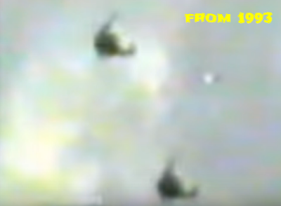 Here you can better see the UFO between the helicopters.