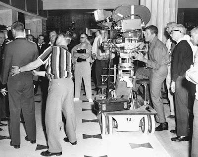 El rodaje de El Botones - 1960