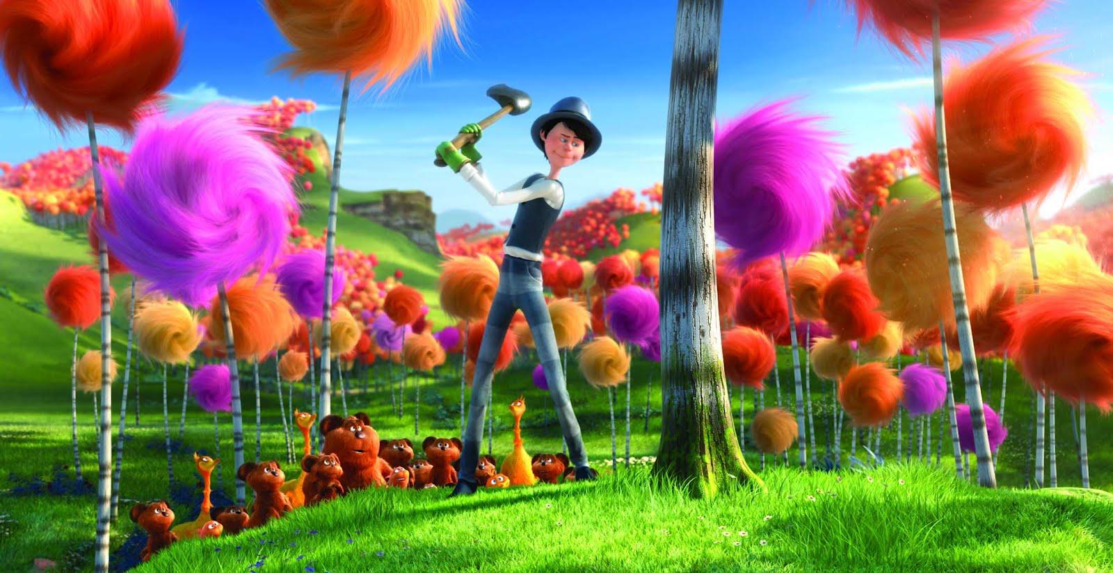 zakka life: Get Creative with The Lorax: Truffula Tree Pencils