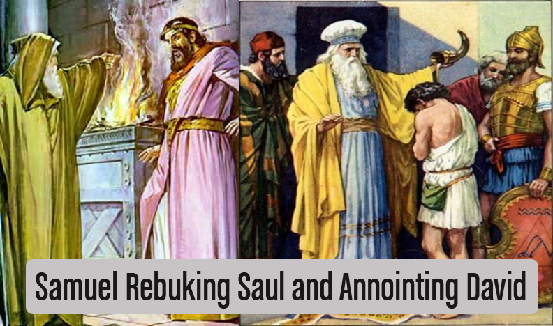 What can we learn from the differences between Saul and David?