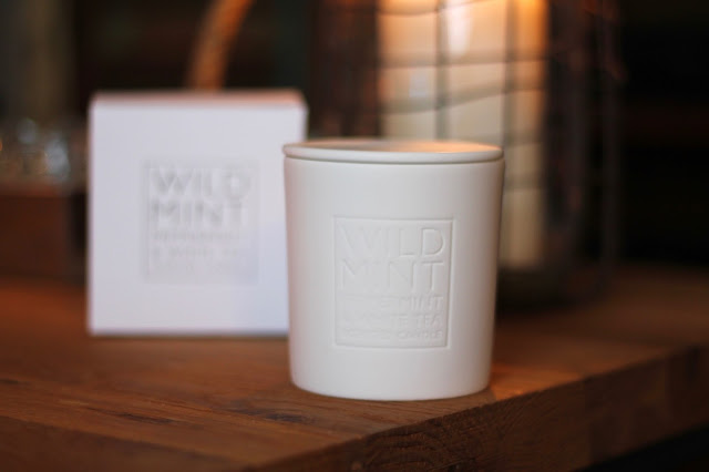 The White Company Wild Mint, Peppermint and White Tea Candle Review