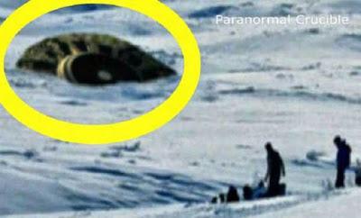 Τρόμος στον Καναδά! Συνετρίβη… ιπτάμενος δίσκος UFO;