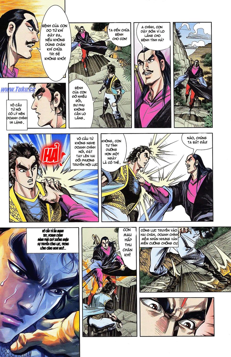 Tần Vương Doanh Chính chapter 18 trang 11