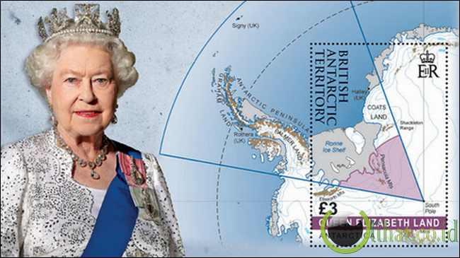 Ratu Elizabeth II (Inggris) - 6,6 Miliar Hektar (ha)