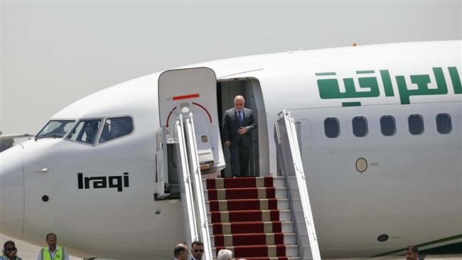 Iraqi Prime Minister Haider al-Abadi arrives in Iran after Saudi visit