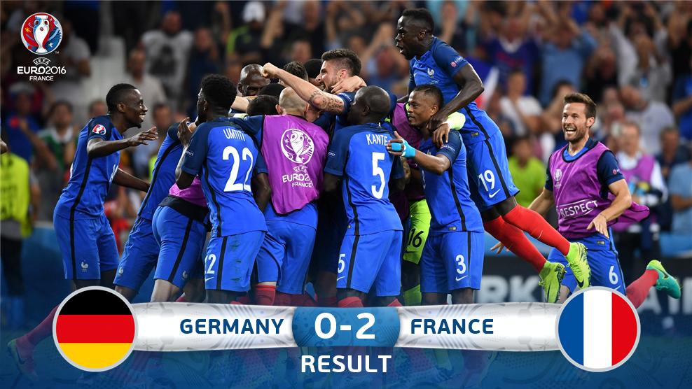 Perancis Atasi Jerman 2-0 untuk ke Final